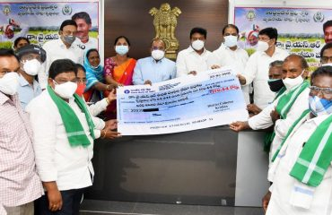 r.Y.S.R.Free Crop Insurance Scheme Launching programme at District level in Krishna district ..