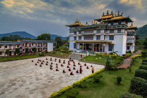 Tibetan Temple at Chandragiri