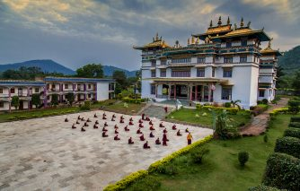 Tibetan Temple Chandragiri