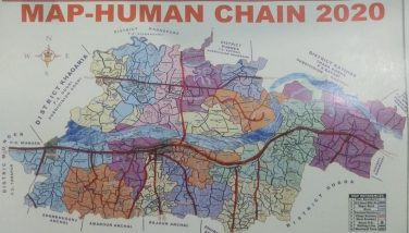 Route Map Human Chain