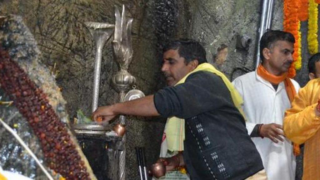 Main Cave Darshan.