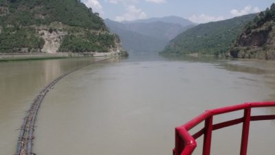 Salal Dam front view.