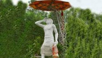 baba Jitto statue.