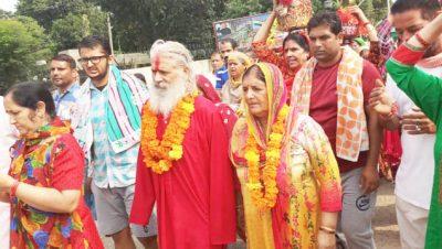 Kallash Yatra on Annual Mela