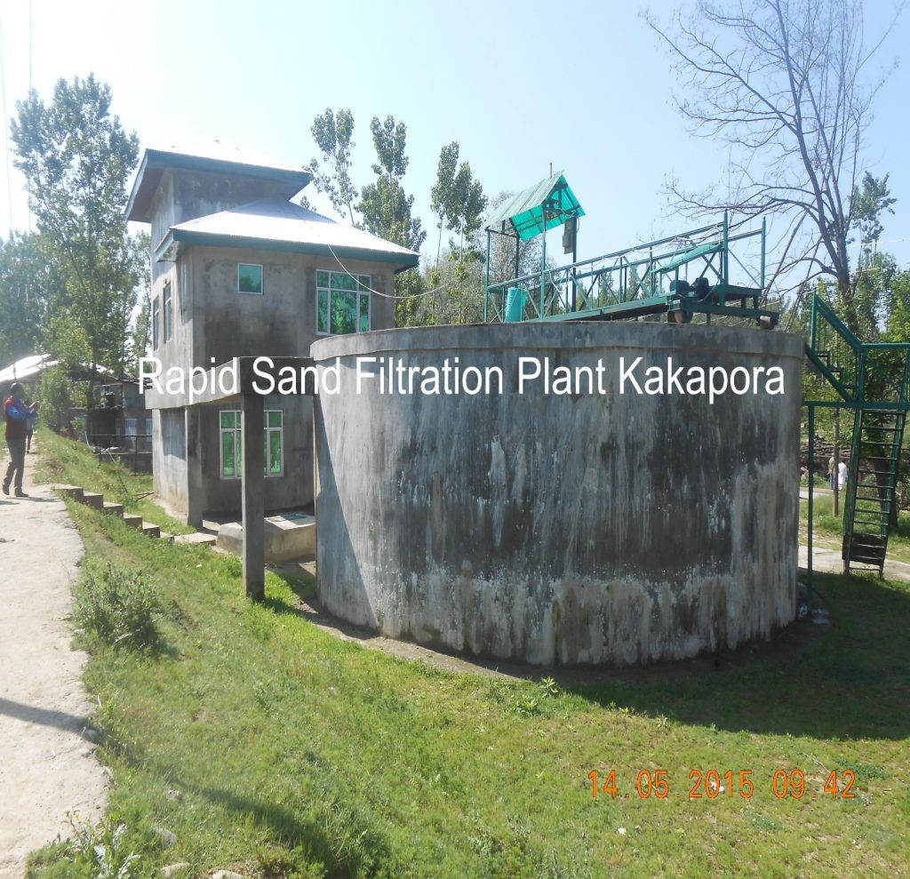 Sand Filitration Plant