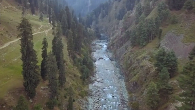 The view from the Waterfall