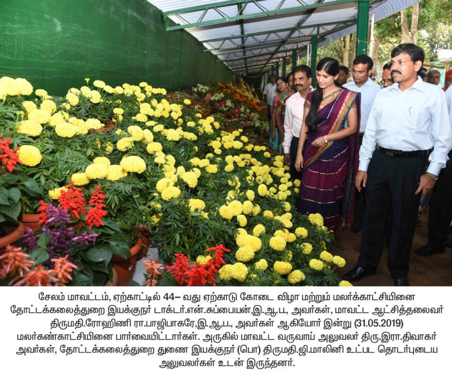 44th Yercaud Summer Festival and Flower show function 19