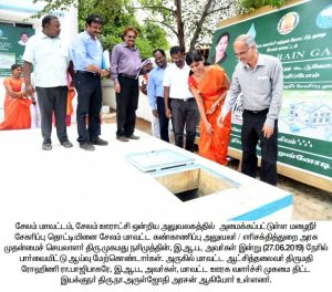 The Salem District Monitoring Officer Inspected the Development activities 6