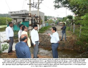 The District Collector Inspected The Selathampatti Lake 2