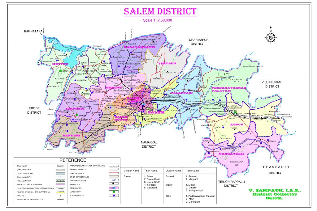SALEM DISTRICT MAP FINAL