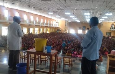 Coronavirus orientation to private & govt doctor's in PMSSY Hall, GMKMCH on 02.03.20