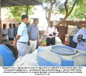 DENGUE INSPECTION BY DISTRICT COLLECTOR