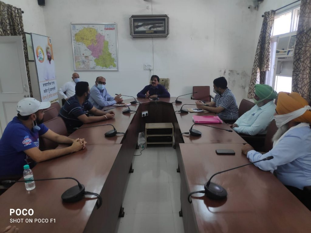 Meeting with Beerh Society, District Forest Officer and DDPO date 26-05-2021 time 11:30 AM