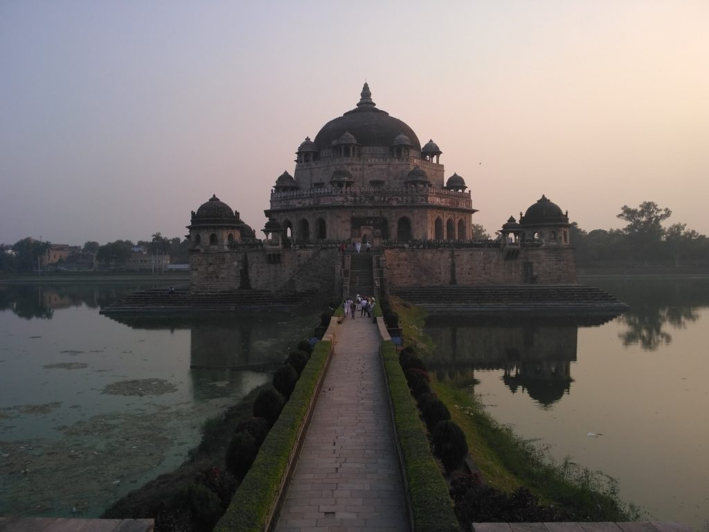 EVENING VIEW OF THE TOMB