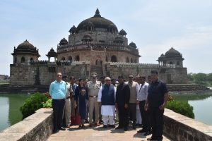 8. H.E. Governor of Bihar in front of Sher Shah Suris Tomb