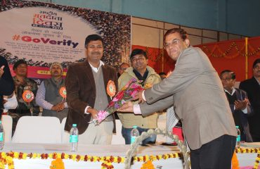 FELICITATION OF DISTRICT MAGISTRATE ROHTAS