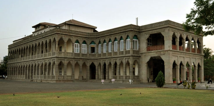 Nilambag Palace side view