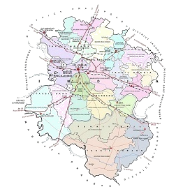 Revenue Map of Allahabad -1