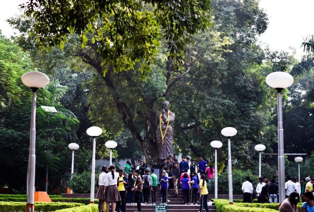 Idol of Chandra Shekhar Azad in Chandra Shekhar Azad Park