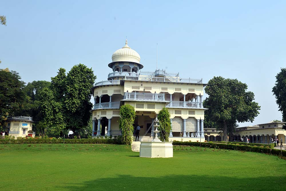 The Front View of Anand Bhawan