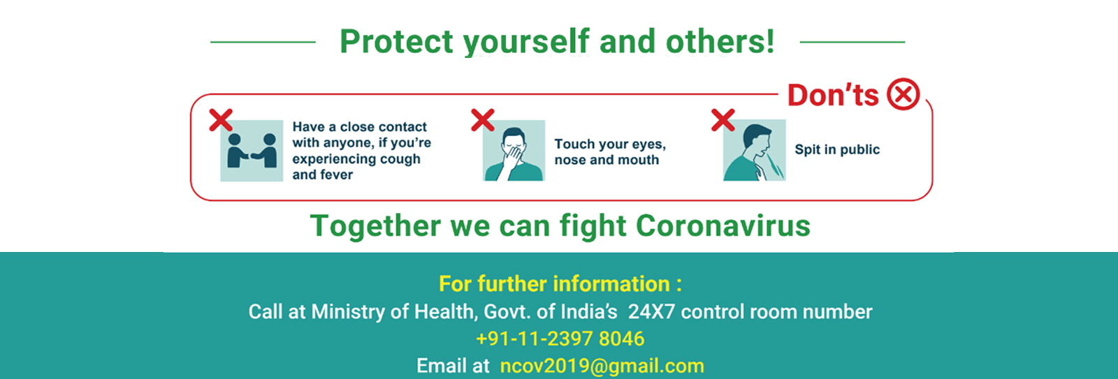 Click on the image link to get Advisory regarding NOVEL CORONA VIRUS