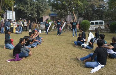 Voters' Awareness Activities at Motilal Nehru National Institute of Technology, Prayagraj