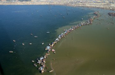 The Aerial View of Sangam