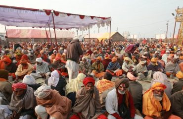 Saints & Devotees in Magh Mela