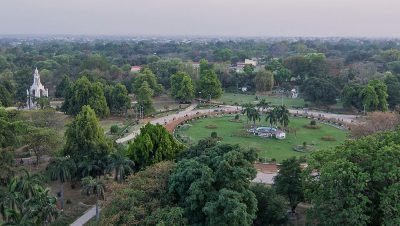 Sky View of the Chandra Shekhar Azad Park
