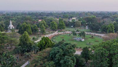 Sky View of the Chandra Shekhar Azad Park