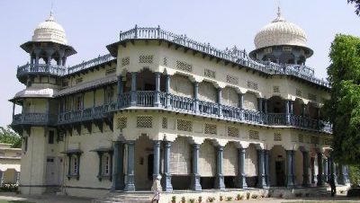 The Side View of Anand Bhawan