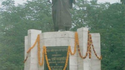 Statue of Sant Kabir Das situated in Magahar