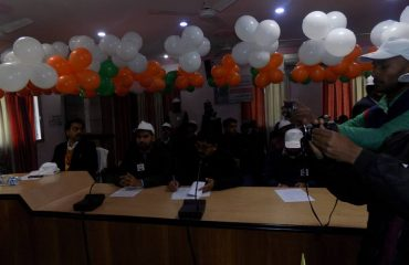 District level officers participate on National Voters Day Programme