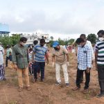 16-09-20 District collector Attended Plantaion at Poolbagh municipal park 25