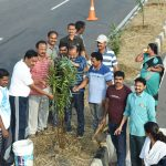 05-03-20 District Collector plantation at Chelluru to Rajapulova High way 5