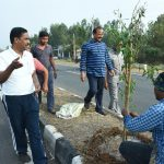 05-03-20 District Collector plantation at Chelluru to Rajapulova High way 2