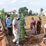 16-09-20 District collector Attended Plantaion at Poolbagh municipal park 11