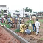 16-09-20 District collector Attended Plantaion at Poolbagh municipal park 4