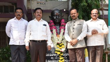 District Collector Participated Mahatma Gandhi Jayanthi Celebrations on 02.10.2018