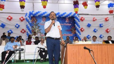 District Collector Participated Christmas Hightea Programme on 20.12.2018
