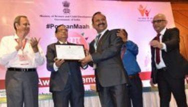 Poshan Abhiyan Award