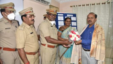 District Transport officials honored the District Collector