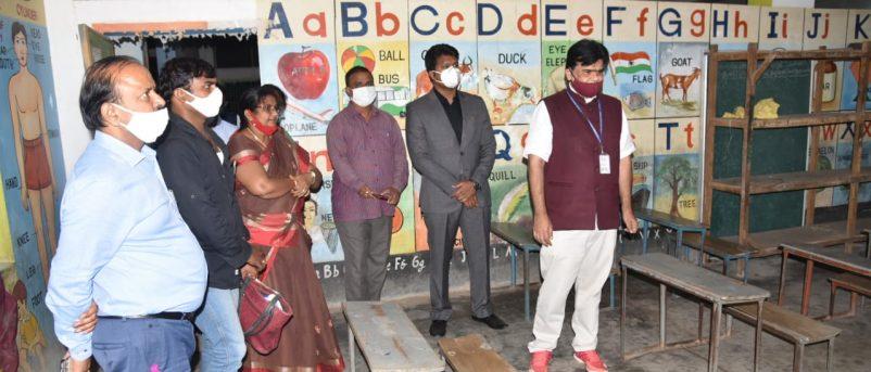 Chief Secretary Visited Government Schools