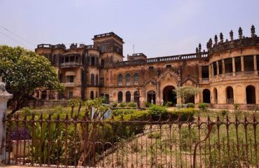 front view of qila