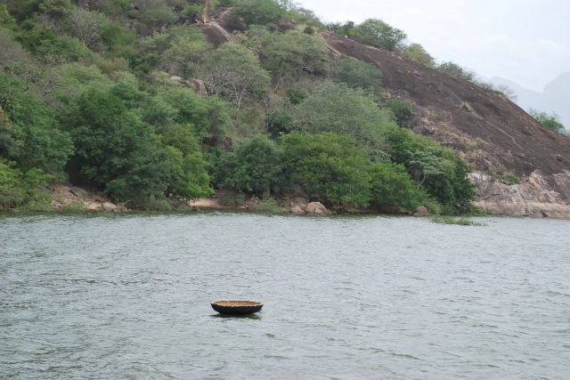 Amaravathi Dam - Side View.
