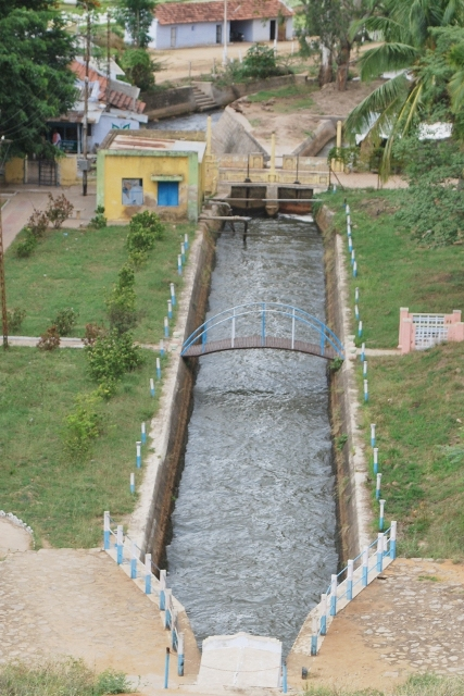 Amaravathi Dam - Channel.