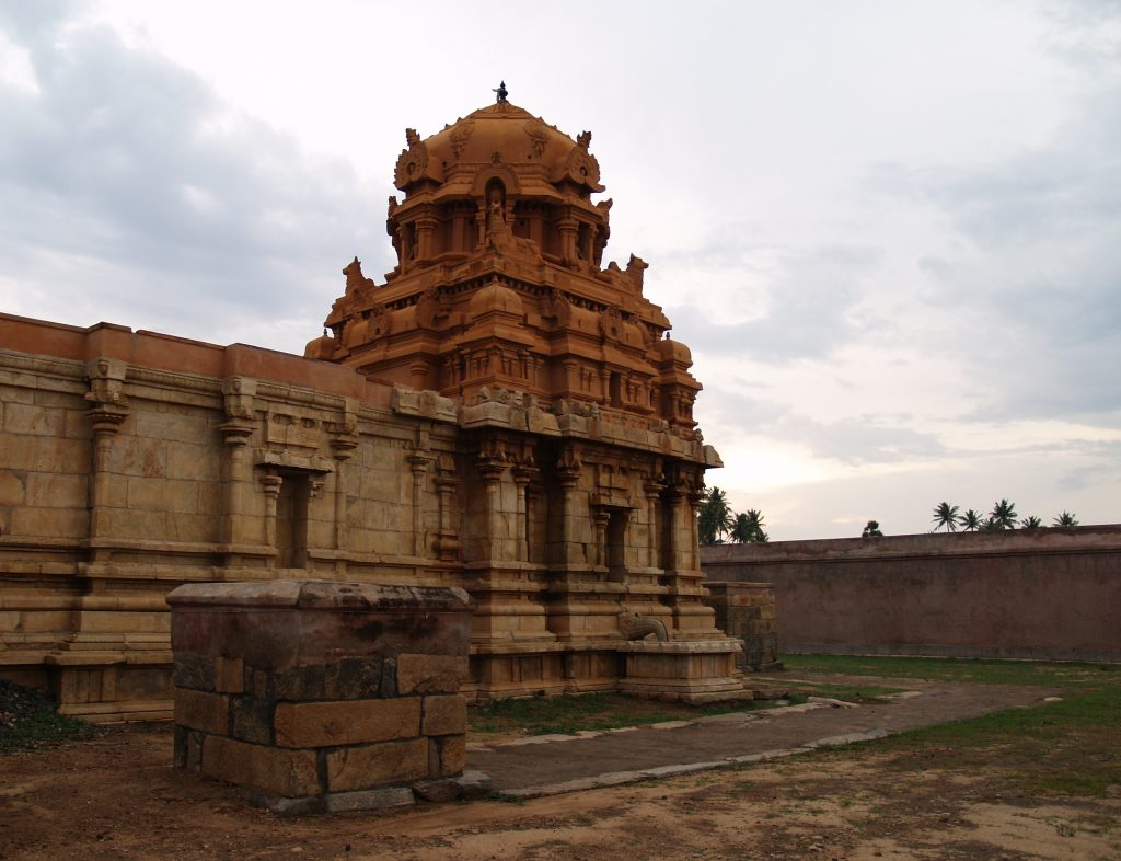 Sugrieswar temple surrounding view.