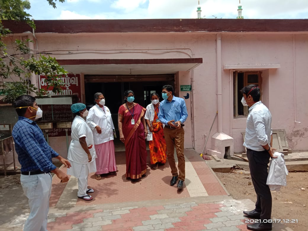 District Collector Inspection on 17-08-2021