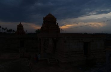 Sugrieswar Temple taken at evening.