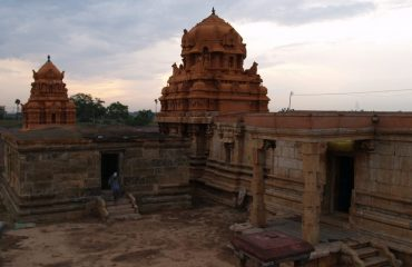 Sugrieswar temple front view.